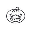 halloween emoji concept line editable vector image