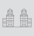 Minsk vector image vector image