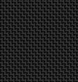 Black cloth texture vector image vector image