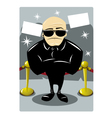 Body Guard vector image