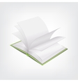 Book stylish concept vector image