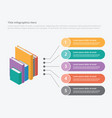 books education isometric syle 3d infographic vector image vector image