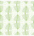 leaves seamless pattern nature repeat background vector image
