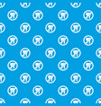 no tooth pattern seamless blue vector image vector image