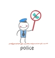 police vector image vector image