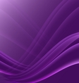 Violet and black waves modern futuristic abstract vector image