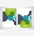 flyer brochure design business flyer size a4 vector image