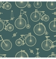 Background bicycle seamless vector image