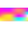 abstract colorful rainbow blurred background with vector image vector image