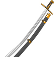 cavalry saber vector image vector image