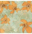 flower design card vector image