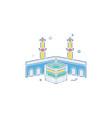 holy kaaba icon design