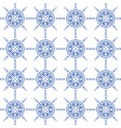 Indigo blue and white seamless geometric pattern