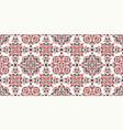 seamless pattern based on ornament paisley bandana vector image vector image