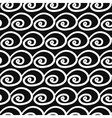 Abstract Seamless pattern with swirls vector image