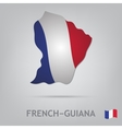 french-guiana vector image vector image