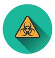 Icon of biohazard vector image vector image