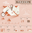 Travel Planning Infographics vector image vector image