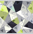 abstract background in the style of memphis vector image