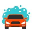 Automatic car wash icon vector image