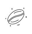 Coffee beans icon design