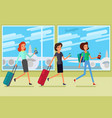 concept of travel vector image