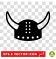 Horned Helmet Eps Icon vector image vector image