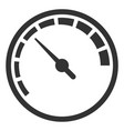 measurer black icon measurement and indicator vector image