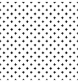 Abstract crosses seamless pattern background vector image