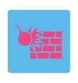 Destruction icon vector image