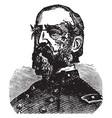 general george meade vintage vector image vector image