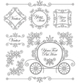 Set vintage ornaments vector | Price: 1 Credit (USD $1)