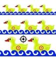 Yellow Duck Target vector image