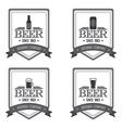 Beer labels vector image vector image