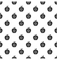 eco apple pattern seamless vector image vector image