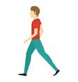 people walking design vector image