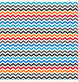 color zigzag seamless pattern vector image vector image