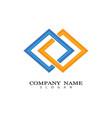 corporate logo template vector image