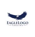 eagle icon logo design template vector image vector image