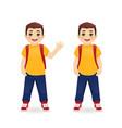 school boy vector image vector image