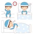 bedtime vector image
