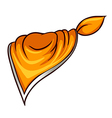 A scarf vector image