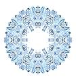 abstract ornate mandala decorative frame vector image vector image