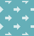 arrow pattern seamless vector image vector image
