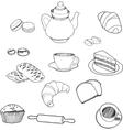 bake vector image