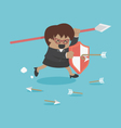 business protection vector image