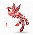 Chinese phoenix vector image vector image