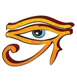 Eye of Horus vector image vector image