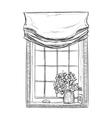 Hand drawn Windows Sketch vector image vector image