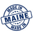 made in maine vector image vector image
